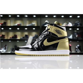 c8d9c8baedb705 Air Jordan 1 High OG NRG Gold Top 3 Black Metallic Gold 861428-001