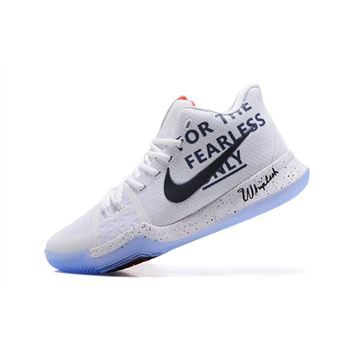 3ae23ed0e65 Men s Nike Kyrie 3 For The Fearless Only Basketball Shoes For Sale
