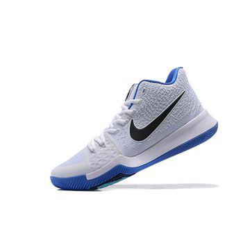 797c07086fc Men s Nike Kyrie 3 Hyper Cobalt White Chlorine Blue-Volt 852395-102