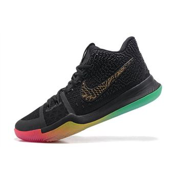 4774c98950c3 Men s Nike Kyrie 3 Rise and Shine Basketball Shoes