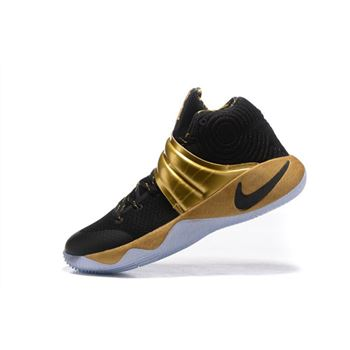 20f6f7eeb8ab Nike Kyrie 2 Black Gold Finals PE For Sale
