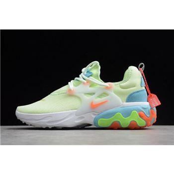 d12550de6534d Nike Presto React Fluorescent Green White Blue Orange AV2605-700