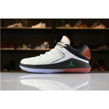 b9ff3e8d50a7f2 New Air Jordan 32 XXXII Low Gatorade Like Mike Summit White Black-Team  Orange